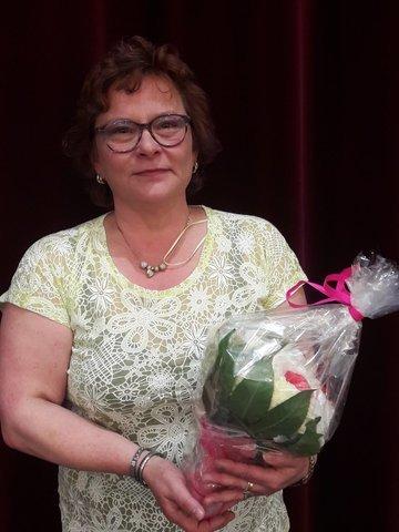 Laatu-palkinnolla palkittu seurasihteeri Erja Naskali