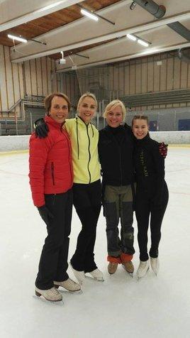 Susanna, Kiira, Shae-Lynn ja Enja