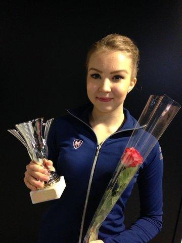 SM-seniorinaisten voittaja Joanna Kallela