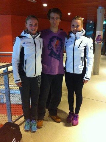 Anni, Michal Brezina (CZE) ja Hanna