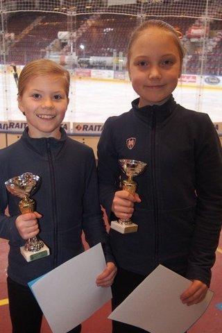 Olivia Lisko ja Nia Nieminen kaksoisvoittoon A-silmuissa