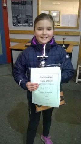 A-silmujen voittaja Nella Aaltonen