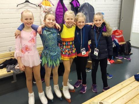 B-silmut Heta, Jenna, Unna, Ulla ja Sini