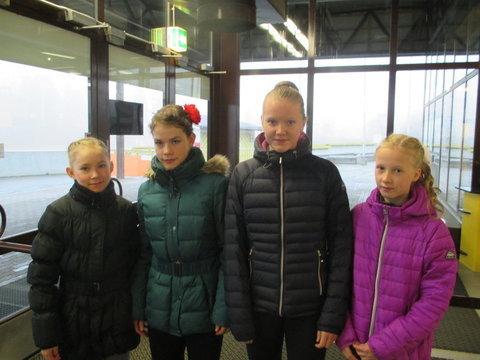 Novice A -sarjalaiset Aura, Leia, Sara ja Maria