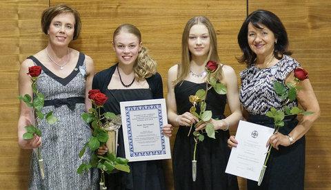 Susanna Haarala, Anni Järvenpää, Jenni Saarinen ja Maaret Siromaa
