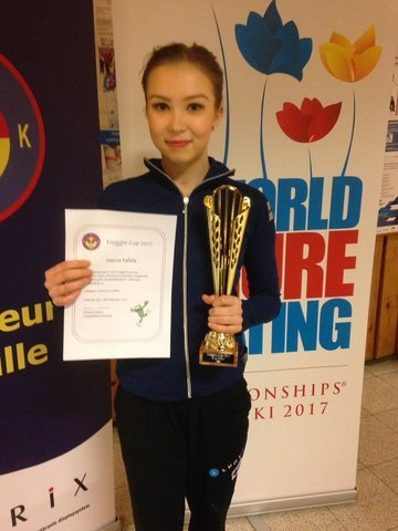 Joanna Kallelalle kultaa SM-senioreissa