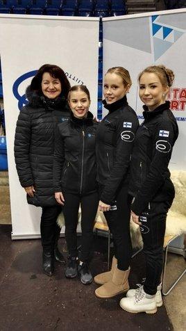 Maaret, Enja, Hanna ja Joanna