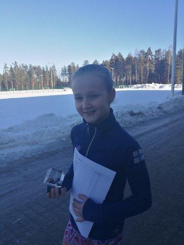 Olivia, aluefinaalin voittaja