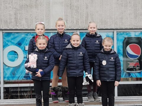 Tintit Olivia, Ilona, Fanni, Lumi, Hertta ja Vivia