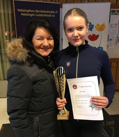 Sara Aalto voitti SM-noviisien sarjan