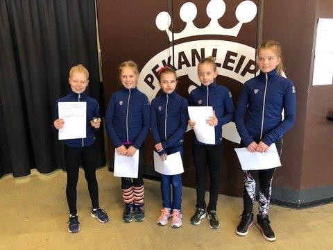 A-silmut Unna, Ulla, Jenna, Sini ja Elli