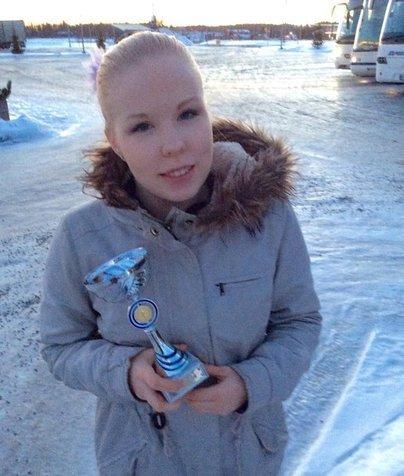 Junior A -sarjan voittaja Pinja Kallela
