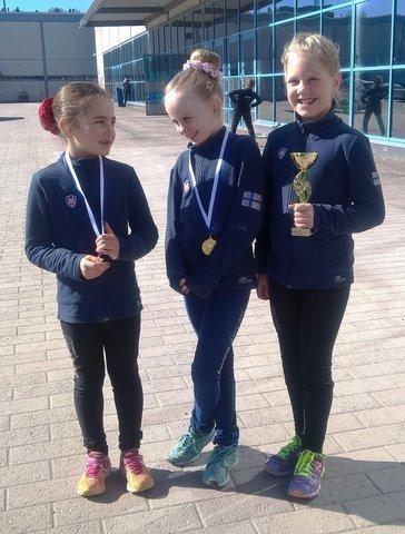Minitytöt Eveliina, Heta ja Ulla